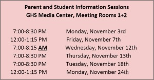 2014 info sessions