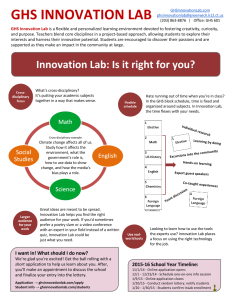 Innovation Lab for Students (1)