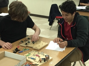 Battery Boot Camp! Students explore series and parallel circuits